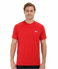 Under Armour 2017 Hommes UA Tech SS T shirt Heatgear Gym Manche Courte Rouge XL