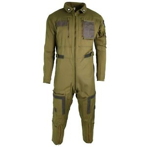 Genuine Italian army coverall flight suit military olive jumpsuit aramid NEW