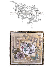 LOTV Lili of the Valley Rubber Stamp - Birds and Blossoms ST424