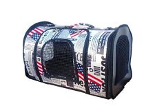 Compact Durable Pets Carrying Bag Pet Home Dog Cat Puppy Foldable Carrier New