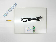 15 Inch 4 Wire Touch Screen Panel USB Controller Kit 322x247mm DIY LCD Monitor