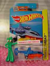 Case N/P 2015 i Hot Wheels SKY KNIFE #94∞Blue/Orange copter; mini 5sp∞Sky Show