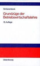 Grundzüge der Betriebswirtschaftslehre von Schierenbeck,... | Buch | Zustand gut