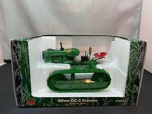 Ertl Oliver OC-3 Crawler Farm Tractor Toy 1/16 Scale Diecast New