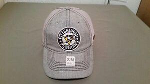 new NHL pittsburgh penguins mesh CCM baseball cap