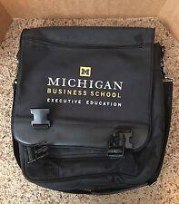 University Of Michigan Business School Executive Education Laptop Bag Backpack