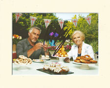 PAUL HOLLYWOOD GREAT BRITISH BAKE OFF PP 8x10 MOUNTED SIGNED AUTOGRAPH PHOTO