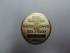 CHALLENGE COIN DoD CEMTER OF EXCELLENCE EO/EEO EQUAL OPPORTUNITY DEFENSE MANAGEM