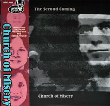 "CHURCH OF MISERY ""THE SECOND COMING"" CLEAR LP REISSUE LIMITED EDITION RARE"