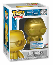 Funko Pop! Sports: Wwe - The Rock (Gold) Vinyl Figure