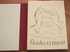 CURIOSA Parallèlement PAUL VERLAINE Vialetay 1954 Lithographies Marcel Vertès