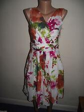 NEXT Cotton V-Neck Floral Dresses for Women