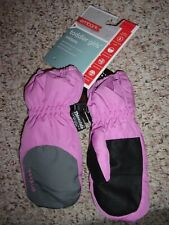 Toddler Girl's Lavender Pink Mitten Set by Embark sz S 2T-4T NWT!
