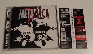 Metallica Until it Sleeps Japan 6 song CD Single with obi