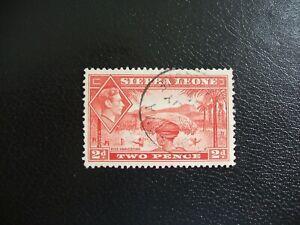 Sierra Leone 1938-41 SG191a George VI Rice Harvest. Used Cat £2.00