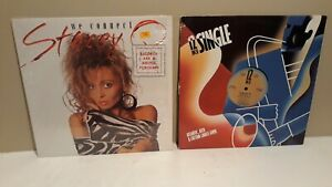 """STACEY Q LOT OF 2-12"""" MAXI'S / """"INSECURITY"""" - """"WE CONNECT"""" / ATLANTIC 1986"""