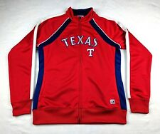 Texas Rangers Ladies Track Jacket Full Zip Medium