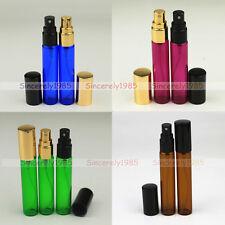 4X 10ml Amber Blue Empty Glass Spray Bottles Vials  Essential Oils Aromatherapy