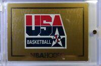 1991 91 NBA Hoops USA Basketball Gold Card #NNO