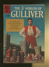 Four Color 1158 FN/VF 7.0 * 1 Book Lot * Three Worlds of Gulliver! Dell 1961!