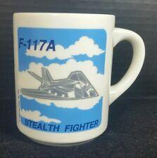 Stealth Fighter F-117A Jet Mug Aviation Aerospace