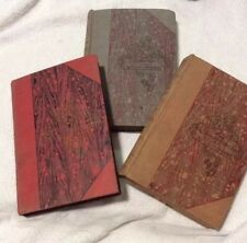 Lot of 3 Antique 1910 Our Girls Books The School Queen, Sue a Little  Heroine