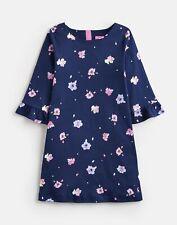 Joules Girls Christina   Frill Sleeve Dress  -  Size 9yr-10yr