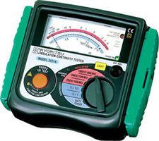 Kyoritsu 3131A Analog Insulation and Continuity Tester, 250/500/1000 Voltage