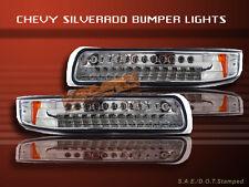 99-02 SILVERADO 00-06 SUBURBAN TAHOE BUMPER LIGHTS LED