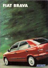 Fiat Brava 1995-96 UK Market Launch Foldout Sales Brochure 1.4 S 1.6 SX 1.8 ELX