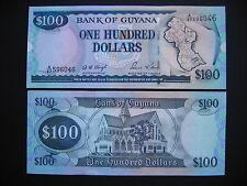 GUYANA  100 Dollars 1999 Signature 12  (P31)  UNC