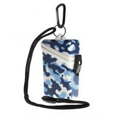 Witz Dry Box Keep it Safe Locker ID Scuba Diving Gear Bag NEW Camo Blue
