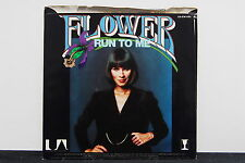 """FLOWER """"Run To Me"""" 45rpm PROMO 7"""" picture sleeve Bee Gees NM"""