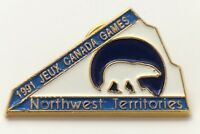 Jeux Canada Games 1991 Northwest Territories Pin F958