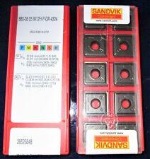 10 NEW & SEALED SANDVIK U-DRILL INSERTS 880-08 05 W12H-P-GR 4324.