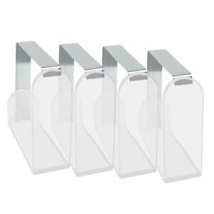 4 Stück Edelstahl Tischtuchhalter Tischdeckenklammer Klammern Tischtuchklammer
