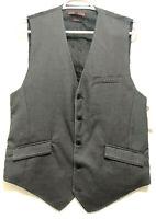 One 90 One Mens Gray Vest Size Medium Leverage TV Show Wardrobe
