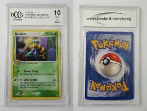 Beedrill 1/112 -  Holo - 2004 Ex FireRed and LeafGreen BCCG Mint 10 Pokemon