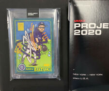 New listing SP Topps PROJECT 2020 #22 Ichiro Suzuki by Ermsy RC 2001 #726 w/Box IN HAND