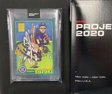 SP Topps PROJECT 2020 #22 Ichiro Suzuki by Ermsy RC 2001 #726 w/Box IN HAND