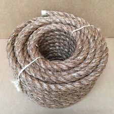"5/8"" X 100' MANILA ROPE Boat Docks Tree Work Dock Farm Nautical Art Crafts Rodeo"