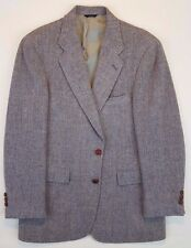 HARRIS Tweed 41L Blazer GRAY Multicolor WOOL Vintage MENS 2 Button USA Vented**