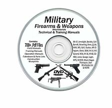 Firearms, Weapons, Military Manuals  - 700+ Manuals Plus Bonus Books