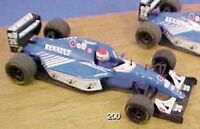 ONYX 200 LIGIER RENAULT JS39 F1 die cast model racing car Eric Bernard 1:43rd
