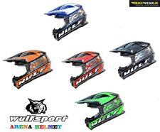 Fibreglass Motocross & ATV Graphic Motorcycle Helmets