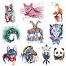 Wolf Tiger Transfer Feather Clothes Patches Stickers Iron on Thermal DIY Crafts