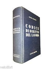 Giugni / Liso / Veneziani - CODICE DI DIRITTO DEL LAVORO. 1994, Cacucci