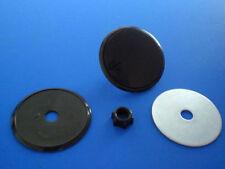 Heckwischerabdeckung Blindstopfen Heck Styling 32mm schwarz -universal-