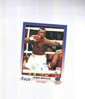 1991 Kayo RC James Buster Douglas Boxing Rookie Card KO'd Mike Tyson Columbus OH
