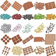 50/100PC Handmade PU Leather Labels Tags Patch DIY Garment Bag Cap Sewing Craft
